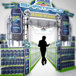 Exhibidor de producto Xtreme Shampoo