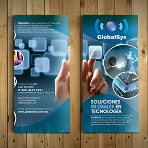 Brochure Trifold – GlobalSys Mexico